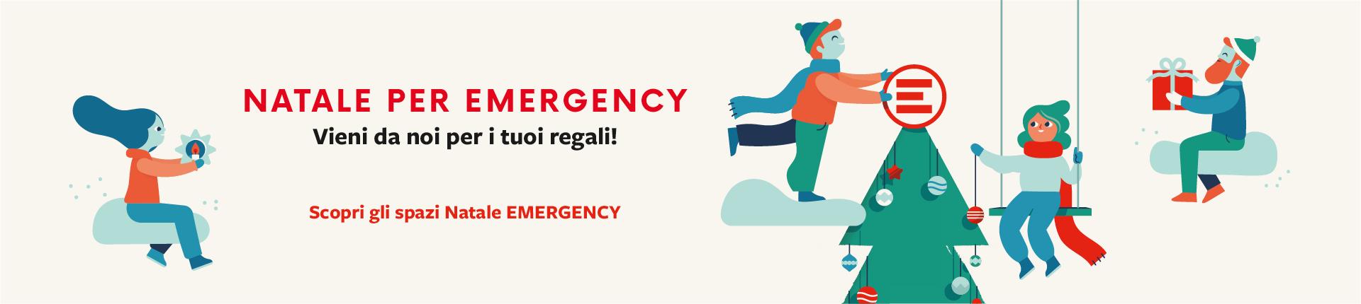 Emergency Regali Di Natale.Spazio Natale 2018 All Infopoint Emergency Radio Elettrica