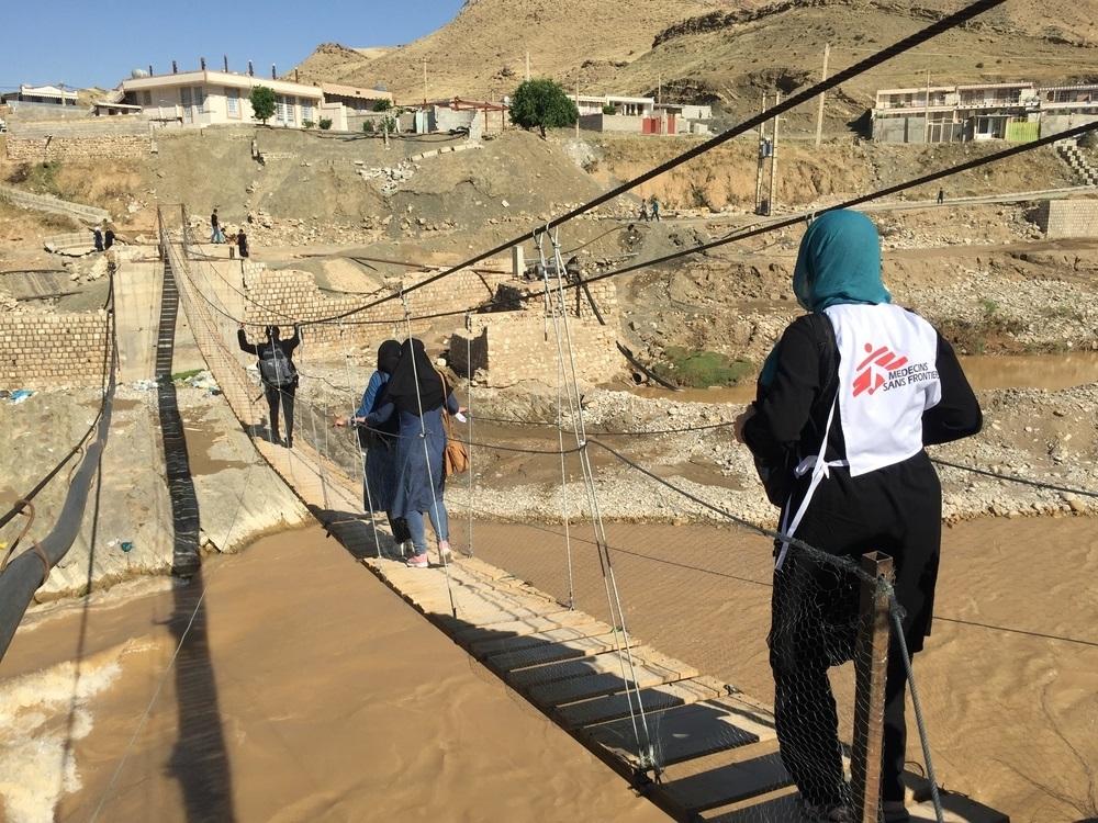 medici senza frontiere iran soccorsi alluvioni