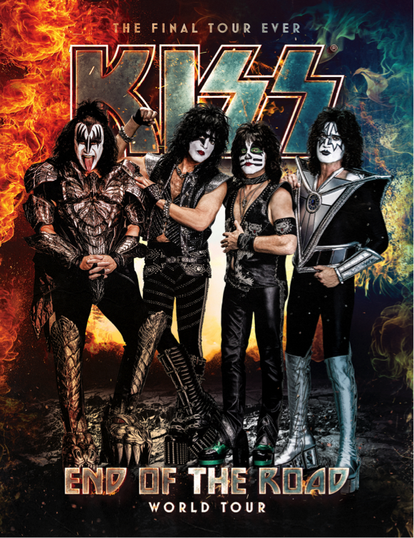 kiss tour addio end of the road