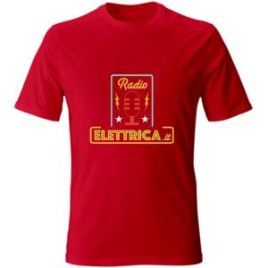 t-shirt-rossa-io-ascolto-radio-elettrica-fronte